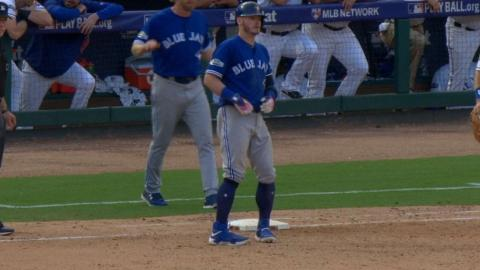TOR@TEX Gm1: Donaldson reaches base five times