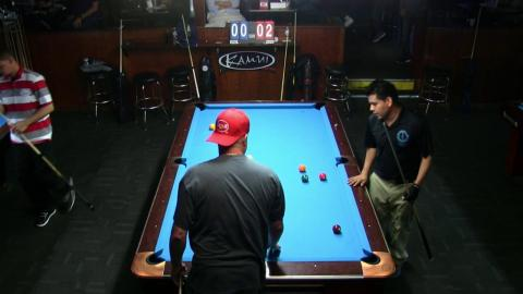 Mark Wathen VS Fransisco Diaz 2018 Sunshine State Pro Am 9 Ball at Strokers Billiards