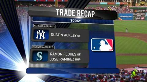 NYY@TEX: Yankees' broadcast on trade for Ackley
