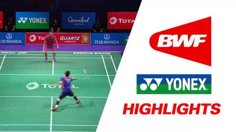 TOTAL BWF Sudirman Cup 2017 | Badminton Day 5 Grp 1 QF - KOR vs TPE – Highlights