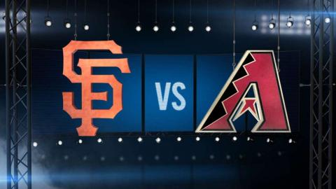 5/15/16: Giants best D-backs in 2-1 pitcher's duel