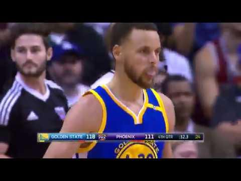 Stephen Curry Drops 42 Points On the Suns in Phoenix! | April 5, 2017