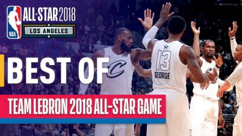 TEAM LEBRON WINS!!! Best Plays from Team LeBron | 2018 NBA All-Star Game