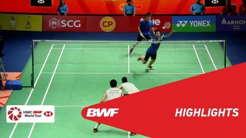 Princess Sirivannavari Thailand Masters 2018 | Badminton MD - F - Highlights | BWF 2018