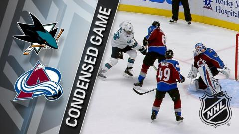 02/06/18 Condensed Game: Sharks @ Avalanche