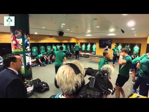 Irish Rugby TV: Irish Team arrive ahead of Todays Game
