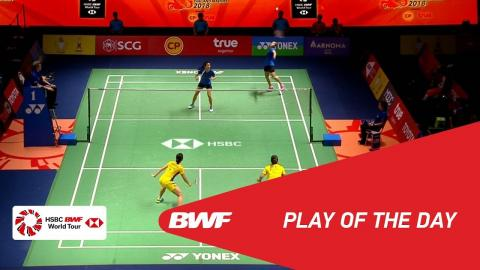 Play of The Day | Badminton Semifinals - Princess Sirivannavari Thailand Masters 2018 BWF 2018