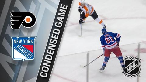 01/16/18 Condensed Game: Flyers @ Rangers