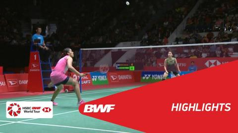 DAIHATSU Indonesia Masters 2018 | Badminton WS - SF - Highlights | BWF 2018
