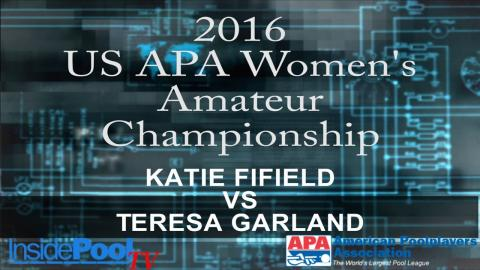 2016 U S  APA Womens Amateur Championship Katie Fifield vs Teresa Garland