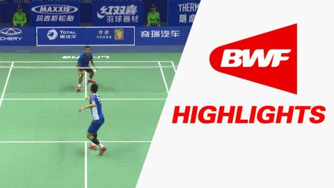 TOTAL BWF Thomas & Uber Cup Finals 2016 | Badminton-Day 1/S2-Thomas Cup GrpA CHI vs MEX – Highlights
