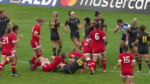 HIGHLIGHTS: Canada beat Wales at Women's Rugby World Cup 2017