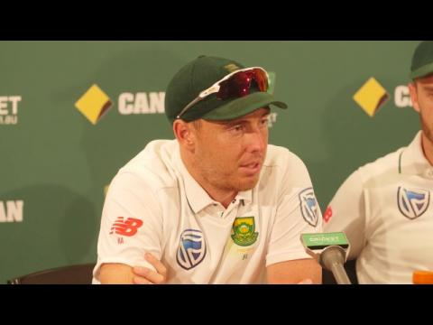 Faf lauds 'relentless' SA attack