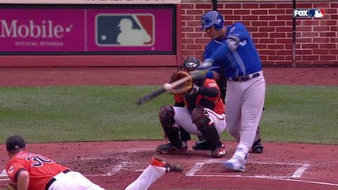 KC@BAL: Perez singles to put Royals on the board