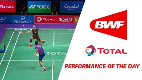 Performance Of The Day | Badminton F – China vs Korea- TOTAL BWF Sudirman Cup 2017