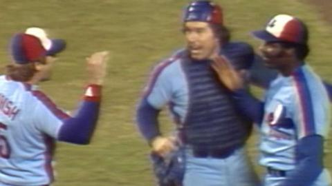 1981 NLCS Gm2: Expos turn two to end Game 2