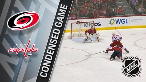 01/11/18 Condensed Game: Hurricanes @ Capitals