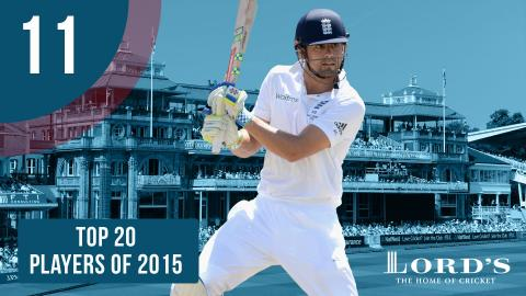 11) Alastair Cook | Top 20 Players of 2015