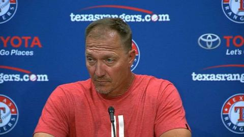 CWS@TEX: Banister discusses loss and injuries