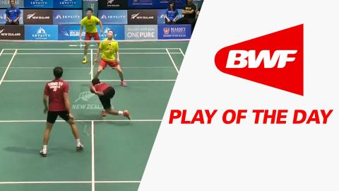 Play Of The Day | Badminton SF – SKYCITY New Zealand Open 2016