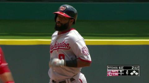 WSH@CIN: Goodwin belts a solo homer to right