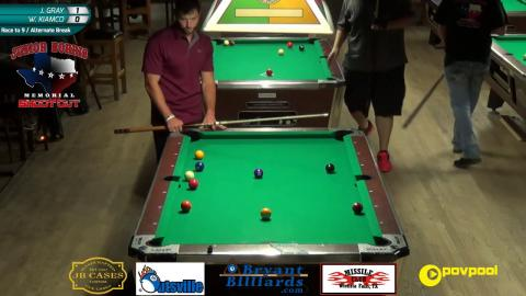 #7 - Joey GRAY vs Warren KIAMCO - Norris 9-Ball • 2017
