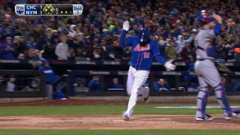 NLCS Gm1: Grandy gives Mets the lead with two-out hit
