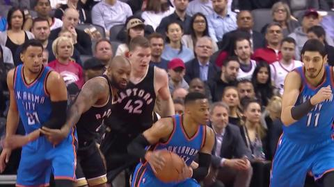 Russell Westbrook 34th Triple Double of The Season in Toronto! March 16, 2017
