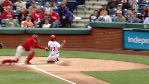 PFS@PHI: Cozens nails Galvis at the home