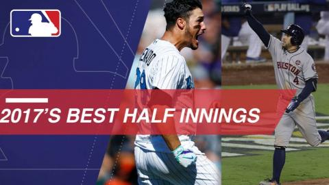 Check out all of the best half-innings from 2017