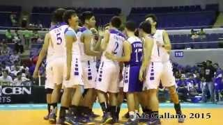 Ateneo Men's Volleyball Team Vs NU, Season'77 - Finals Game 1