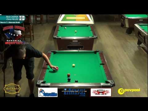 FINALS • Ricki CASPER vs Chris FIELDS • 2017 Junior Norris Women's 9 Ball