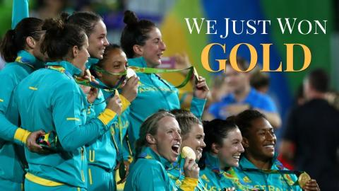 "Australia Women's Sevens: ""We Just Won Gold!"""