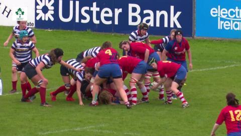 Irish Rugby TV: Women's All-Ireland Cup Final Highlights