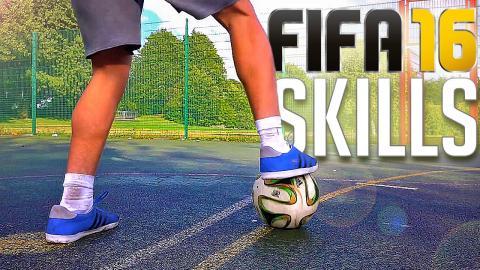TOP 3 - FIFA 16 SKILLS (IN REAL-LIFE)