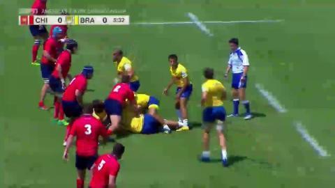 2018 Americas Rugby Championship - Chile v Brazil - Chile 7 - 0 Brazil