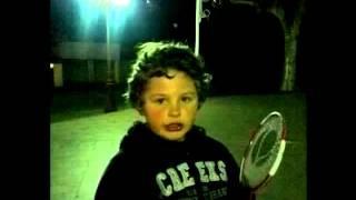Ivan The Ivantube Is Playing Badminton In The Dark