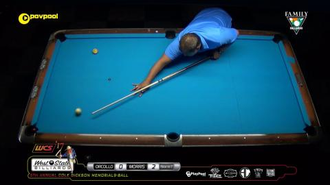 #16 • Rodney MORRIS vs Dennis ORCOLLO / 2017 Cole Dickson 9-Ball