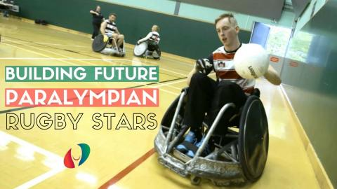 Lighting a Path for Rugby's New Breed of Paralympians