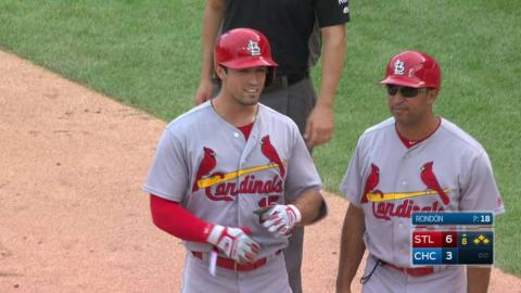 STL@CHC: Grichuk's RBI single extends the lead