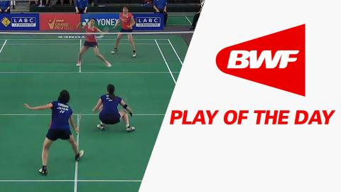 Play Of The Day | Badminton F - Yonex US Open 2016