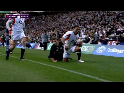 Robinson scores classic try against Scotland | NatWest 6 Nations