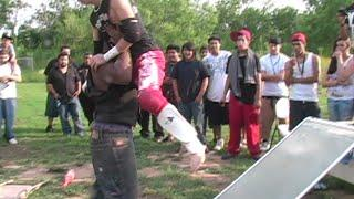 ESW Backyard Wrestling - Japanese  Deathmatch Event - Full Event (W/ Commentary)