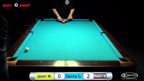 47th Terry Stonier 9 Ball - #17 Jason Williams vs Danny Gohkul