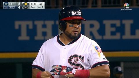 CLE@CWS: Melky scatters four hits vs. Indians