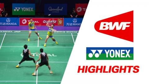 TOTAL BWF Sudirman Cup 2017 | Badminton Day 4 Grp 1C-JAP vs MAS – Highlights