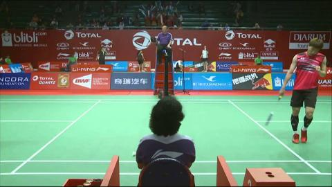 TOTAL BWF World Championships 2015 | Badminton Day 1 R64 M6-MS | Lee vs Ngu