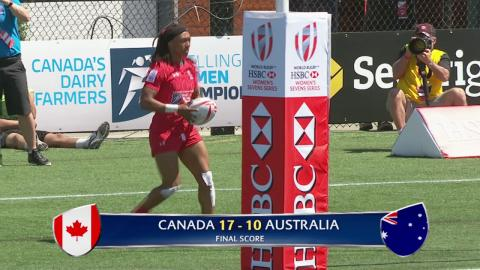 Highlights: All the action from the final day at the Canada Sevens