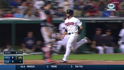 HOU@CLE: Murphy pushes run across with sacrifice fly