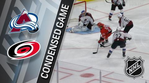 02/10/18 Condensed Game: Avalanche @ Hurricanes